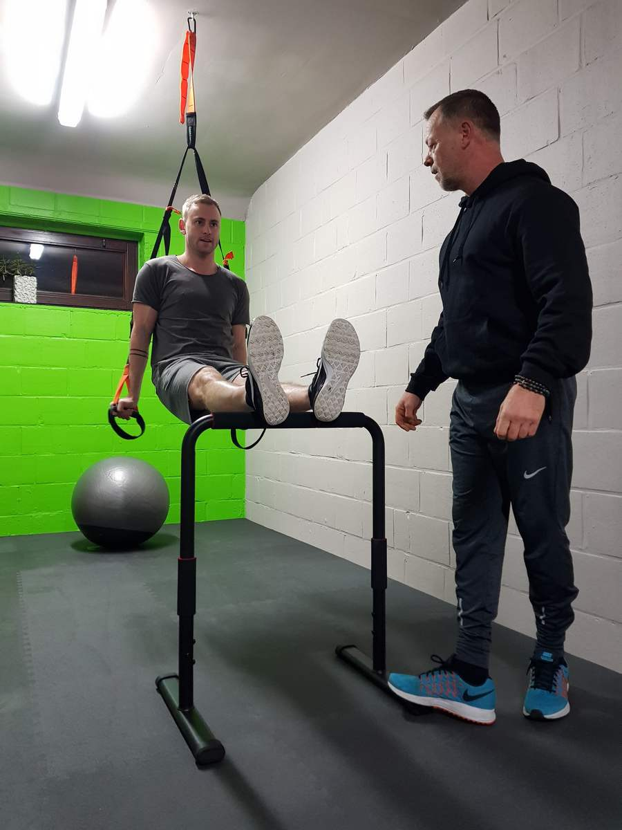 Personal Trainer Core Stability